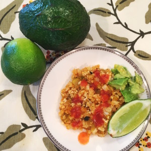 Diabetic Rice Mexican Rice Cauliflower Rice