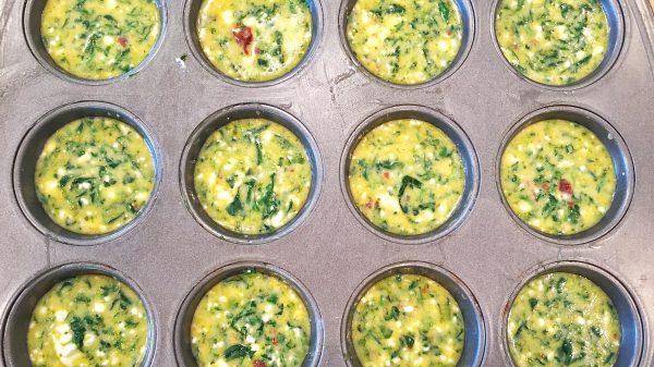 Diabetes Egg Cups - Breakfast