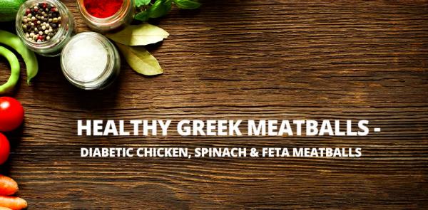 Healthy Chicken Meatball Recipe - Diabetic Meatballs