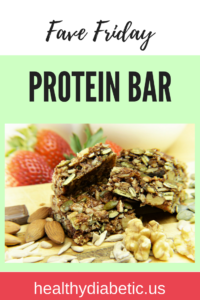 Healthy protein bar - diabetic protein bar- bar for diabetes