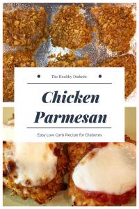 Healthy Chicken Parmesan - chicken parmesan for diabetes