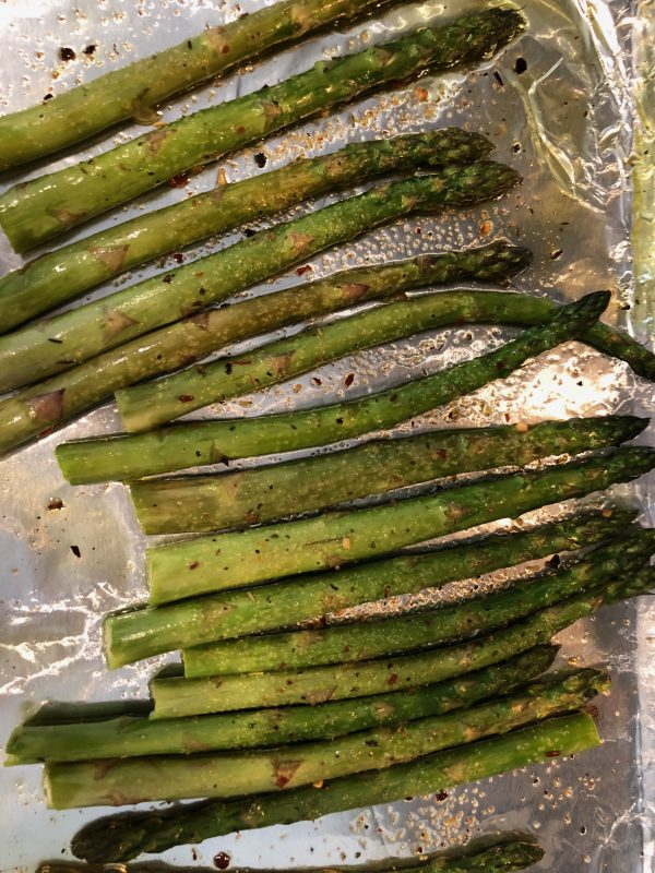 Lemon Parmesan Asparagus - Rosted Asparagus Recipe for Diabetes