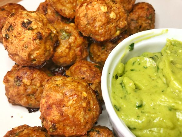 Low Carb Mexican Meatballs - Diabetic Chicken Chipotle Meatballs