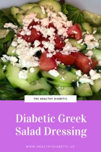 Diabetic Greek Salad Dressing Recipe