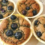 Diabetic Blueberry Muffins - Grain free Gluten free Blueberry Muffin Recipe