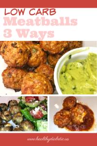 Low Carb Meatballs - Diabetic Meatball Recipe