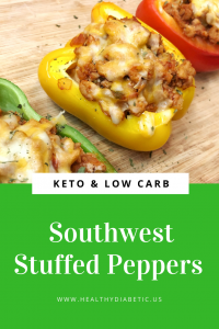Southwest Stuffed Peppers Low Carb - Keto Healthy
